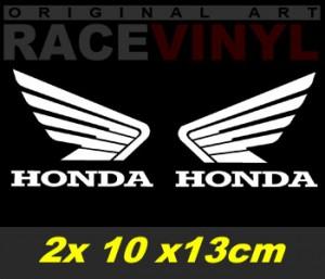 Kit de pegatinas para moto Alas Honda