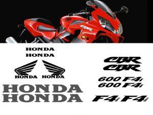 Pegatinas para Carenado Honda CBR 600 F4i 01-06