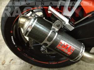 CBR 600 F3 PC31 Honda Race Aitor Jimenez trasero detalle
