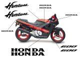 Esquema Pegatinas para Carenado Honda CBR 600 F1 Hurricane 87-90