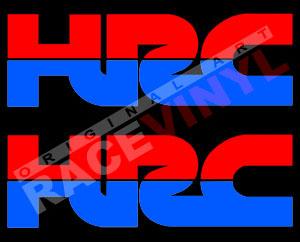 Pegatinas Honda Racing HRC