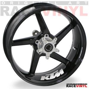 Adhesivos para llantas de KTM, Logos del interior