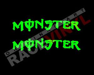 Pegatinas para llantas Monster Energy