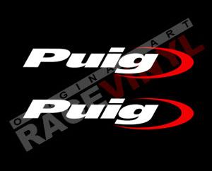 Pegatinas para motos con logos Puig