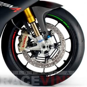 tiras adhesivos para llantas de moto Triple Italia