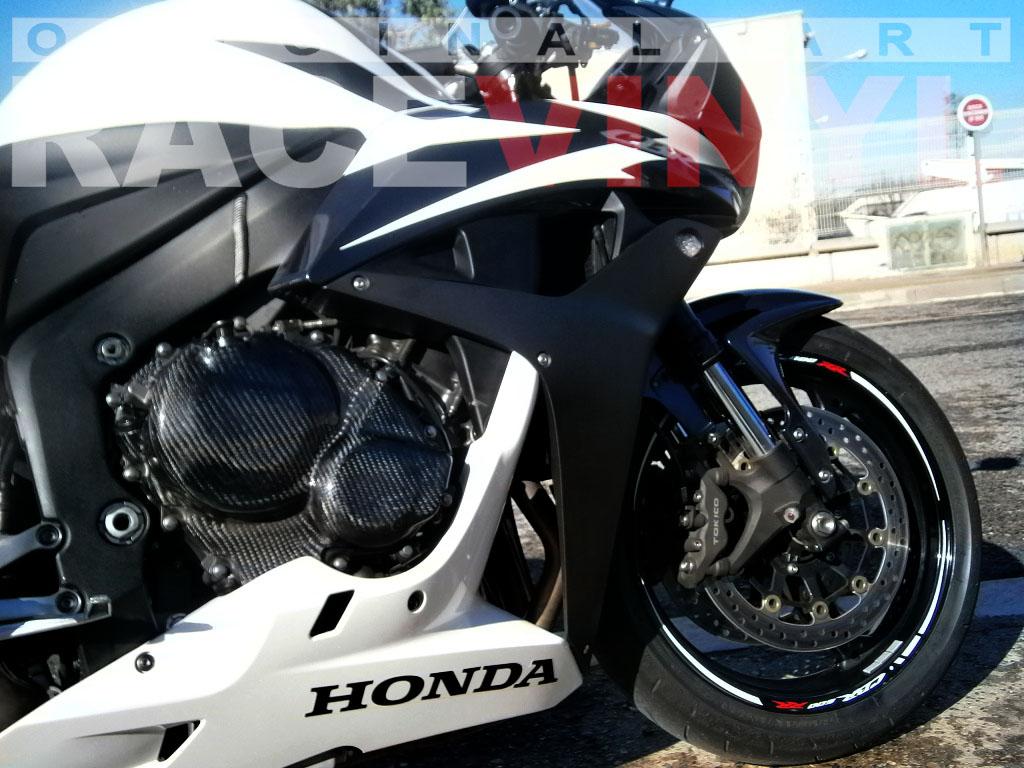 Honda CBR 600 RR Adhesivos Race Color Blanco con logo CBR600RR