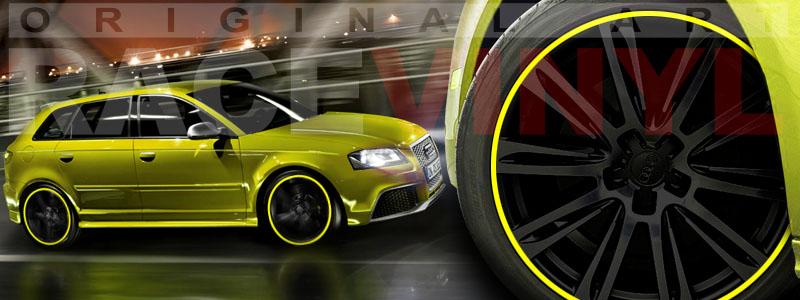 Audi A3 - RS3 - S3, Galería de fotos, Adhesivos Genéricos