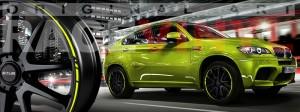 Racevinyl BMW 1 3 5 7 6 8 m3 m5 x5 x3 vinilo vinyl amarillo fluor