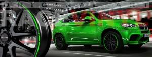 Racevinyl BMW 1 3 5 7 6 8 m3 m5 x5 x3 vinilo vinyl verde