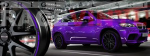 Racevinyl BMW 1 3 5 7 6 8 m3 m5 x5 x3 vinilo vinyl violeta
