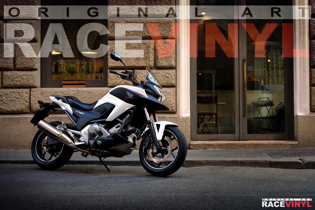 Racevinyl Honda CB 500 X CB500X F CB500F Rim Sticker vinyl pegatina adhesivo llanta rueda moto generica con logotipo 03