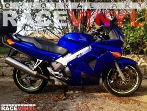 Racevinyl Honda VFR 750 800 Firestorm Adhesivos llanta pegatina vinilo SPEED vinyl rim sticker 01
