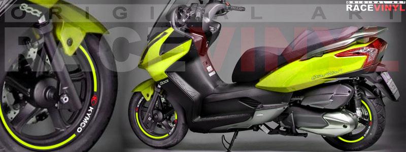 Kymco Superdink 125, 250, 300 Racevinyl Colores