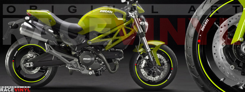 Ducati Monster 696 - Catálogo de colores Racevinyl.