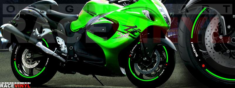 Suzuki Hayabusa generico verde