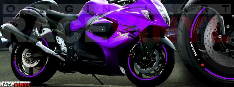 Suzuki Hayabusa generico violeta