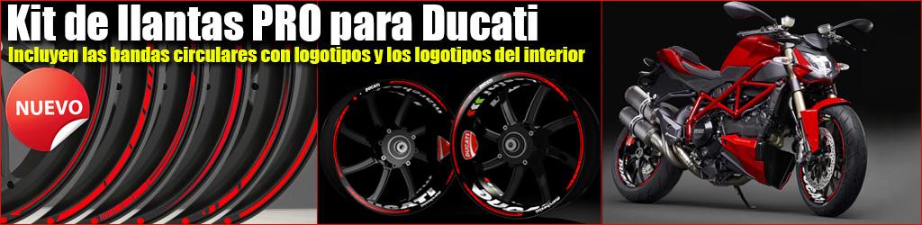 Pegatinas KIT PRO Ducati