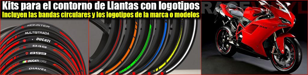 perfil de la llanta de Ducati