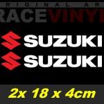 Pegatinas Logo Suzuki