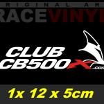 Kit de pegatinas para motos Honda logos Club CB500X