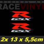 Pegatinas con los logotipos de GSXR