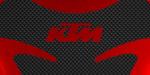 Tank pad CITY logo marca KTM