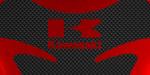 Tank pad CITY logo marca Kawasaki