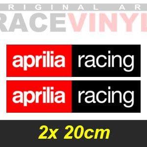 2 logos aprilia racing