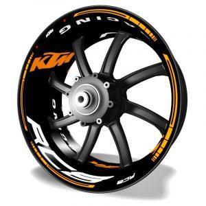 Adhesivos Kit PRO KTM RC8 pegatinas en vinilo para llantas