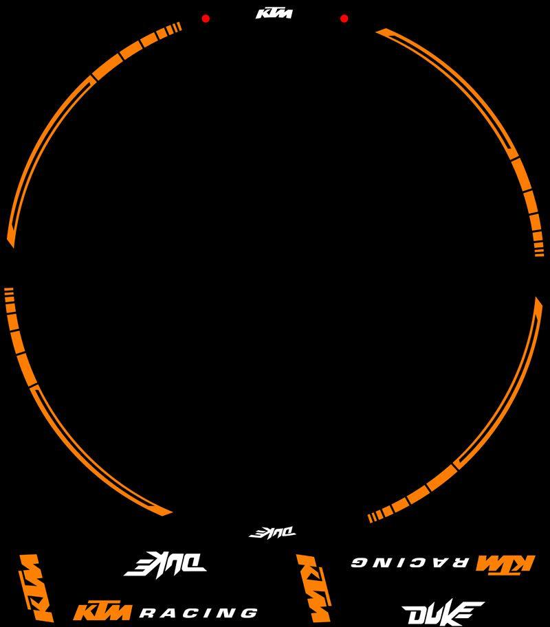 Contenido Kit PRO KTM Racing Duke