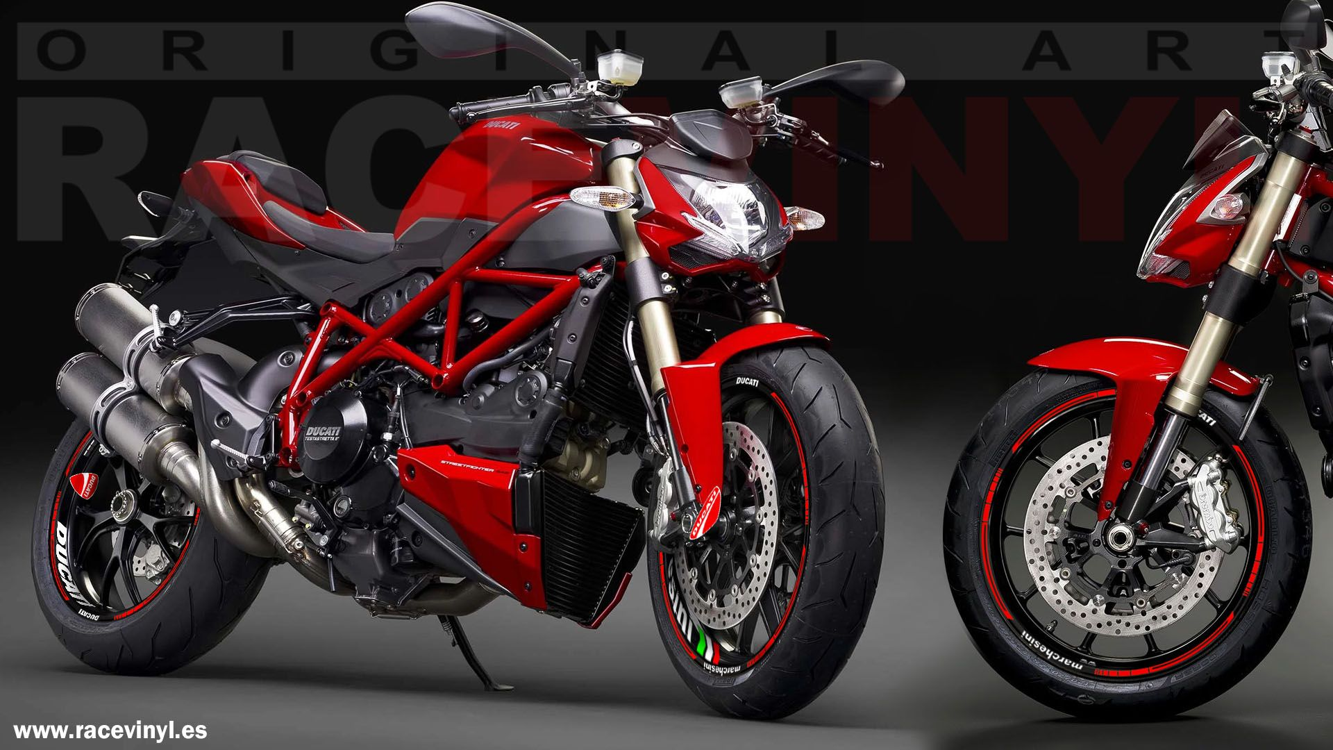 Ducati Monster S4R con el Kit PRO de vinilos Racevinyl
