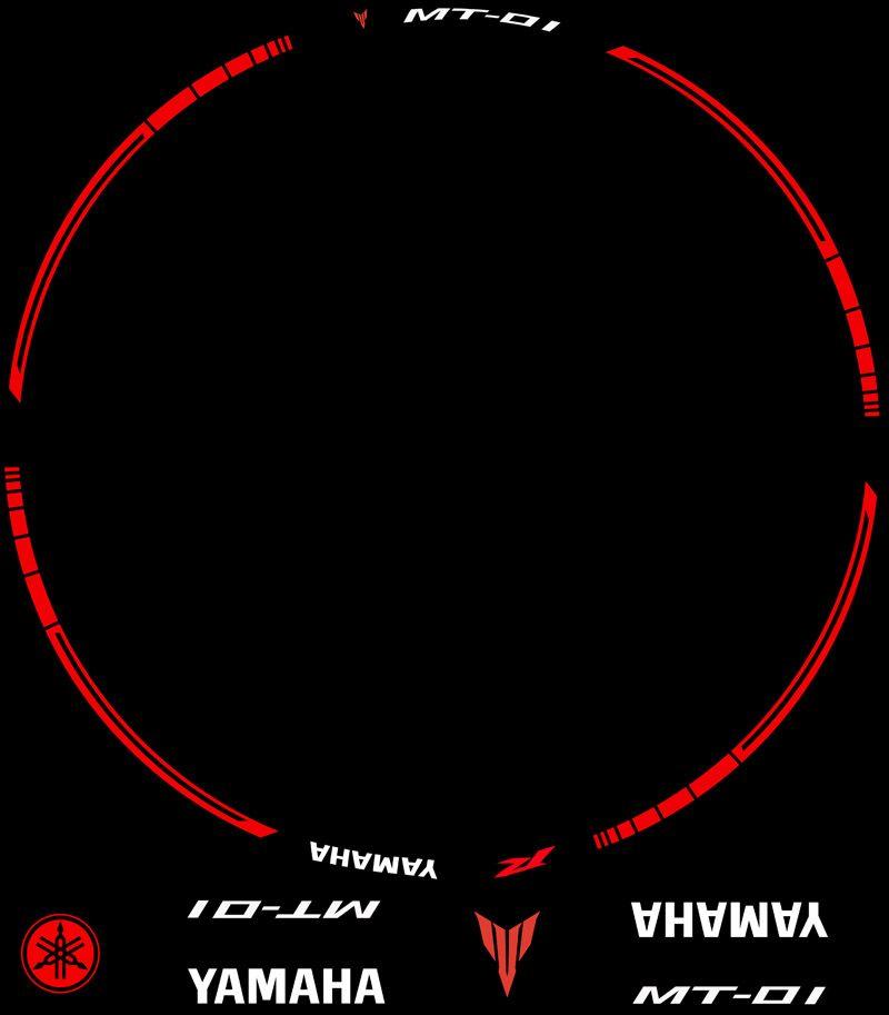 Contenido Vinilos Kit PRO Yamaha MT01