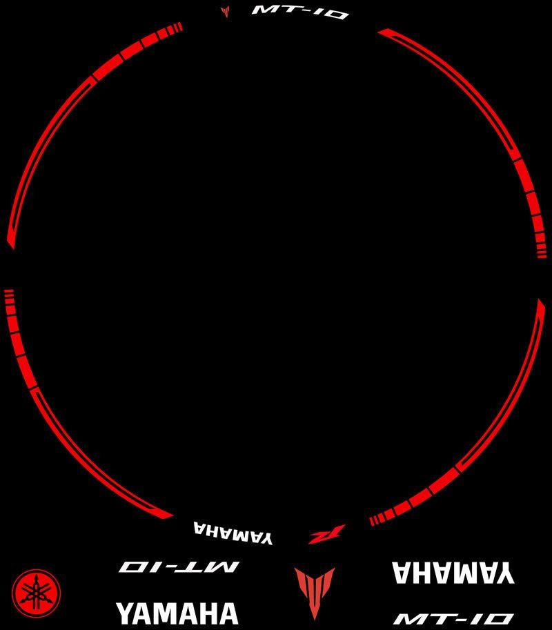 Contenido Vinilos Kit PRO Yamaha MT10