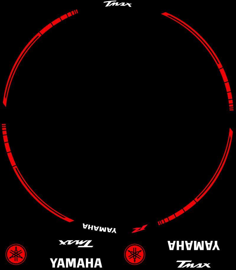 Contenido Vinilos Kit PRO Yamaha TMax