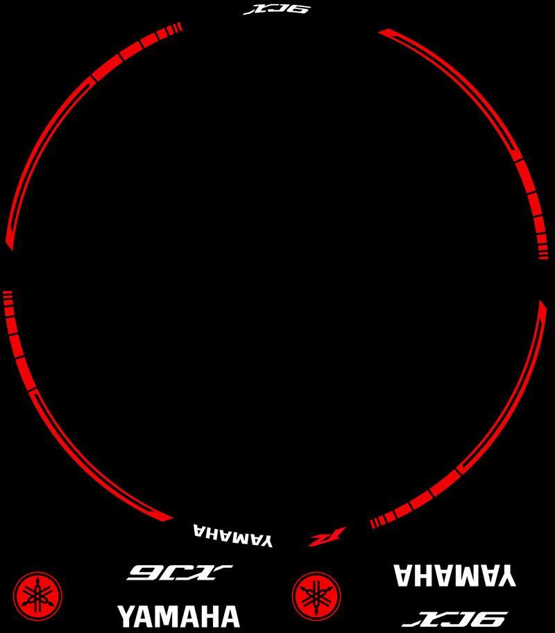 Contenido Vinilos Kit PRO Yamaha XJ6