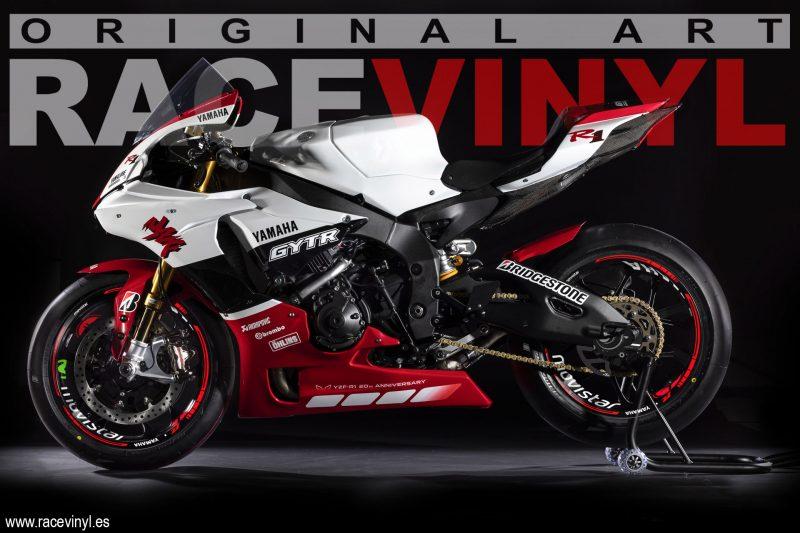 Pegatinas para llantas Yamaha YZf R1 2019 Kit PRO 02
