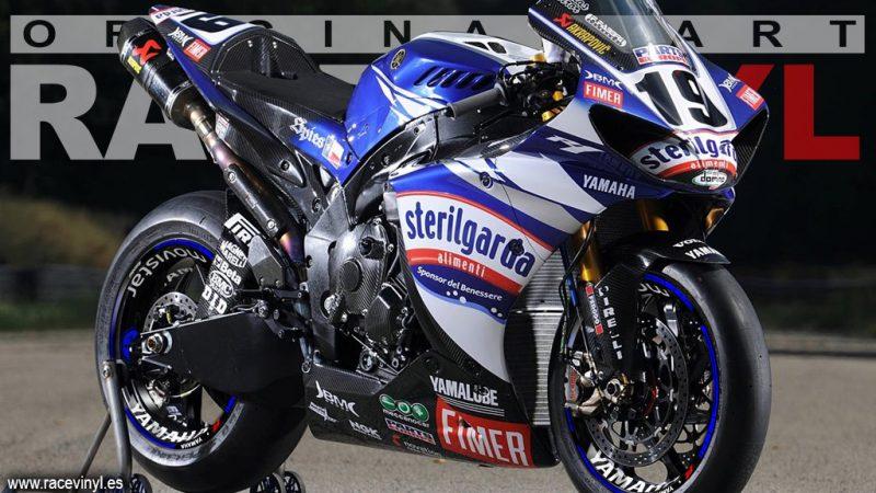 Yamaha YZF R6 Pegatinas para llantas KIT PRO Moto GP