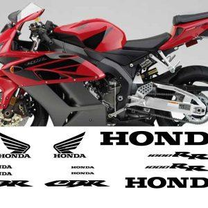 Kit de vinilos y adhesivos para el carenado de la Honda CBR1000RR 2004