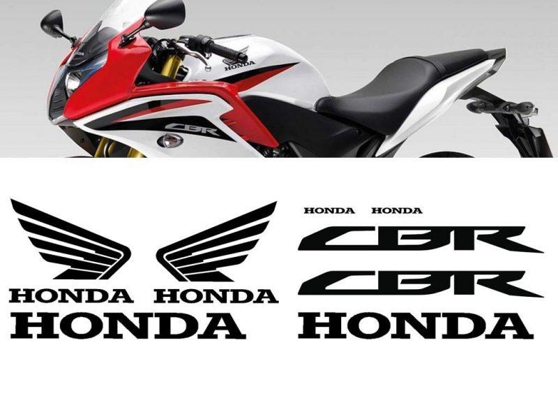 Kit de vinilos y adhesivos para el carenado de la Honda CBR600F 2010