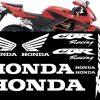 Kit de vinilos y adhesivos para el carenado de la Honda CBR600RR 2006