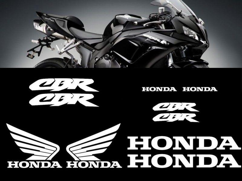 Kit de pegatinas y vinilos para el carenado de Honda Genérico