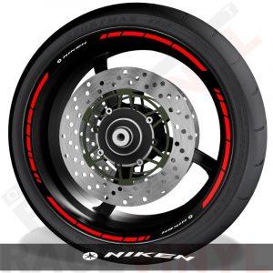 Pegatinas y accesorios de motos vinilo perfil de llantas Yamaha Niken speed