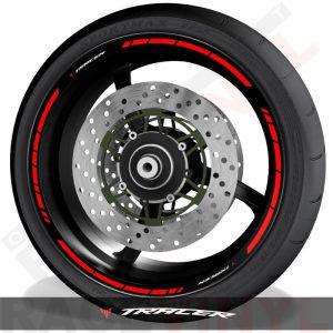 Vinilos y accesorios de motos vinilos perfil llantas Yamaha Tracer speed