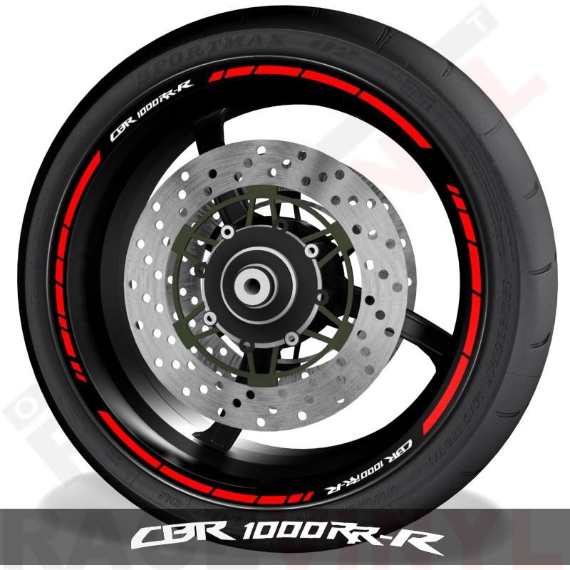 Adhesivos y accesorios para motos vinilos perfil llantas Honda CBR1000RR-R speed