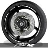 Pegatinas y accesorios de motos adhesivos perfil de llantas BMW F900XR speed