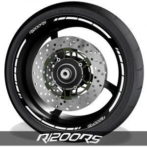 Adhesivos y accesorios para motos pegatinas para perfil de llantas BMW R1200RS speed