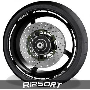 Pegatinas y accesorios de motos vinilos perfil llantas BMW R1250RT speed