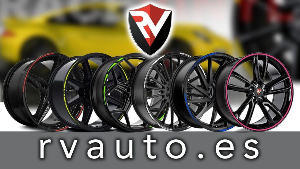 Banner rvauto.es, accesorios, vinilos y adhesivos tuning para coches