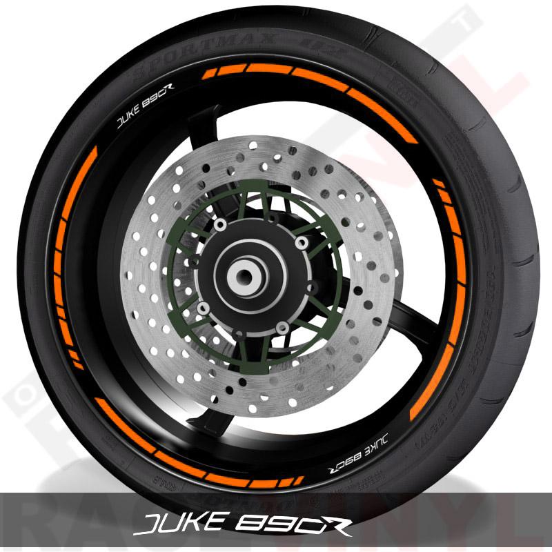 Pegatinas y vinilos adhesivos para el perfil de llantas KTM Juke 890R speed