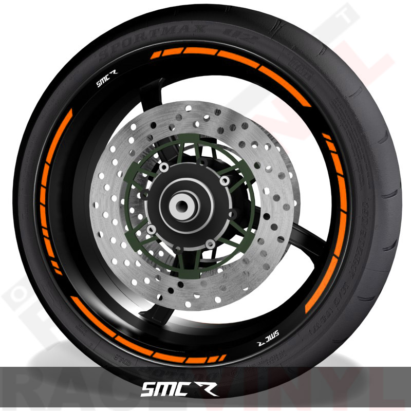 Pegatinas y vinilos adhesivos para el perfil de llantas KTM SMC R speed